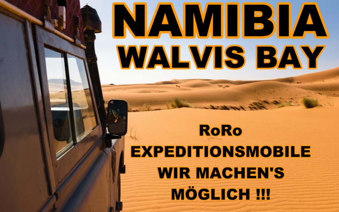 RoRo nach Walvis bay – Namibia